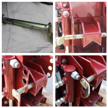 Pin Adjustment