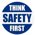 Safety first blue