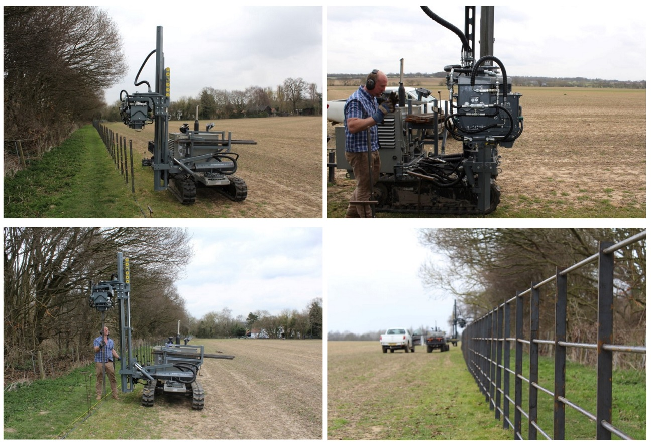 Self Propelled Tracked Post Driver